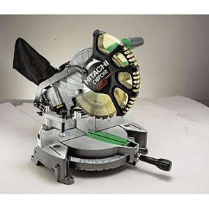 Hitachi C10FCH2 10 Miter saw with laser
